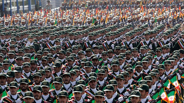 Iran's Revolutionary Guards (Photo: AP)