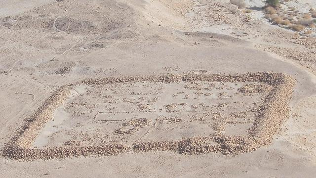 Romans besieged Masada mainly because of secret. One of camps outside mountain (Photo: Ziv Reinstein)