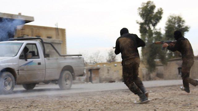 An al-Qaeda graduation course in Syria (Photo: Reuters)