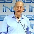 Former Prime Minister Ehud Olmert Photo: Haggai Dekel