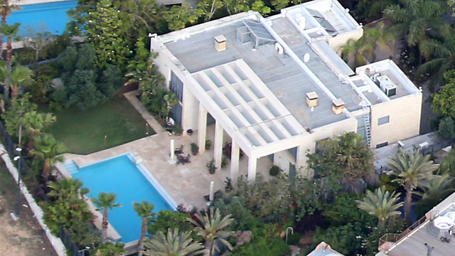 Prime Minister Benjamin Netanyahu's private Caesarea home (Photo: Shaul Golan) (Photo: Shaul Golan)