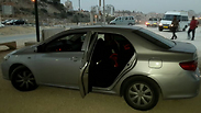 The hijacked car Photo: Police Spokesperson