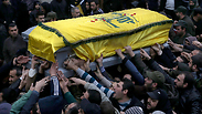 Funeral of Hezbollah senior official Photo: AP
