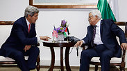US Secretary of State Kerry meeting with PA President Abbas (Archive) Photo: AP