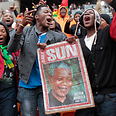 South Africans gather for memorial Photo: EPA