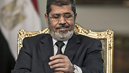 Ousted Egypt president Mohamed Morsi Photo: EPA