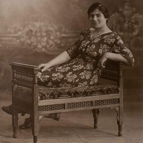 רחל מלין. הייתה חברה של פולה בן גוריון (צילום: אוהד צויגנברג)