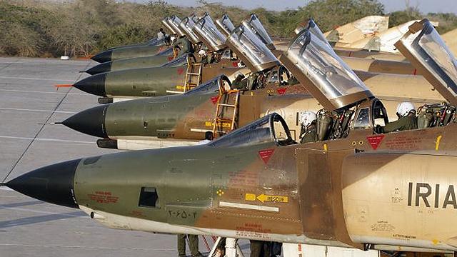 מטוסי פנטום של חיל האוויר האיראני ()