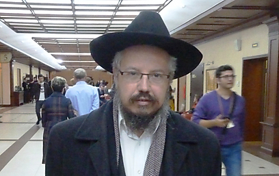 Rabbi Zvi Pinsky. 'This is the Jewish soul' (Photo: Liron Nagler-Cohen)