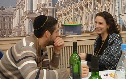 Young St. Petersburg Jews draw closer (Photo: Liron Nagler-Cohen)
