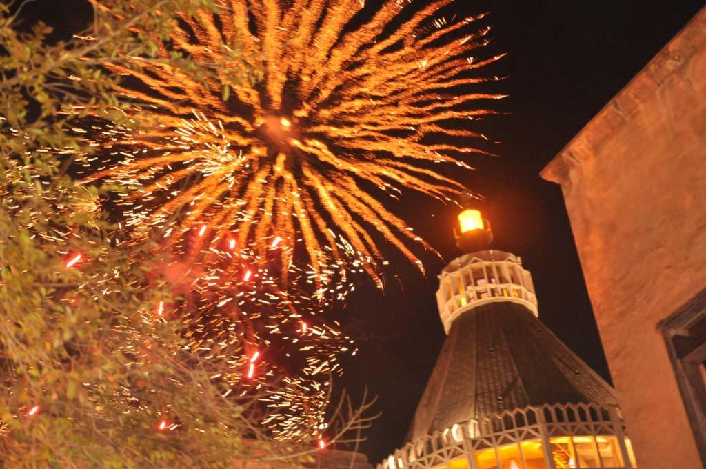 Christmas fireworks in Nazareth (Photo: Anur Amareh)