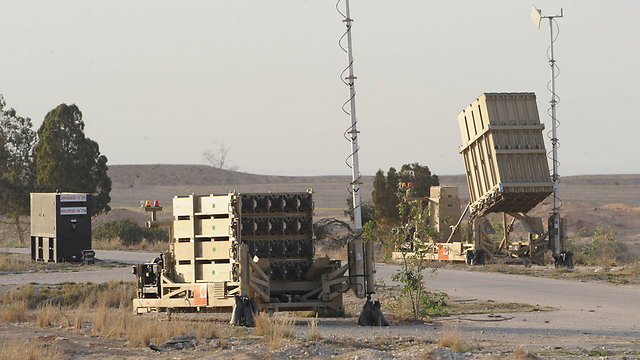 Iron Dome battery (Photo: Herzl Yossef)