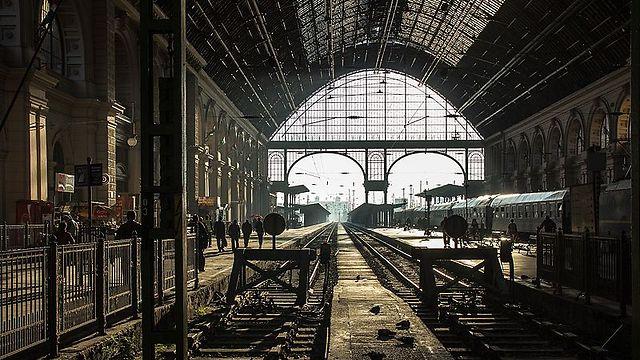 תחנת הרכבת קלטי בעיר בודפשט, הונגריה (צילום:  Németh Tibor)