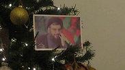 Hassan Nasrallah hangs on the Christmas tree