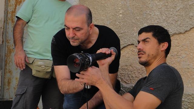 האני אבו-אסעד עם הצלם איהאב עסל ()