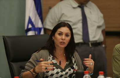 Miri Regev (Photo: Alex Kolomoisky)