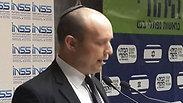 Bennet during speech at INSS