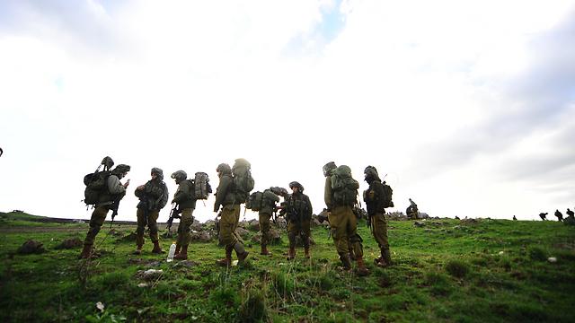 Nahal Brigade soldiers
