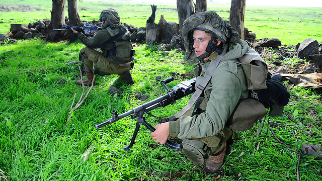 IDF combat soldiers from the haredi battalion