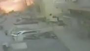 Moment of blast