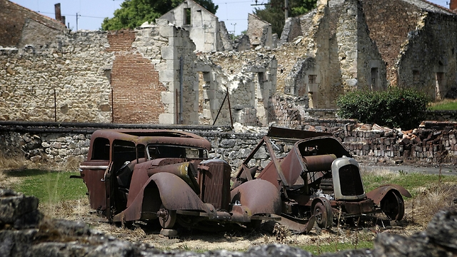 Remnants of the massacre in France (Photo: AP)