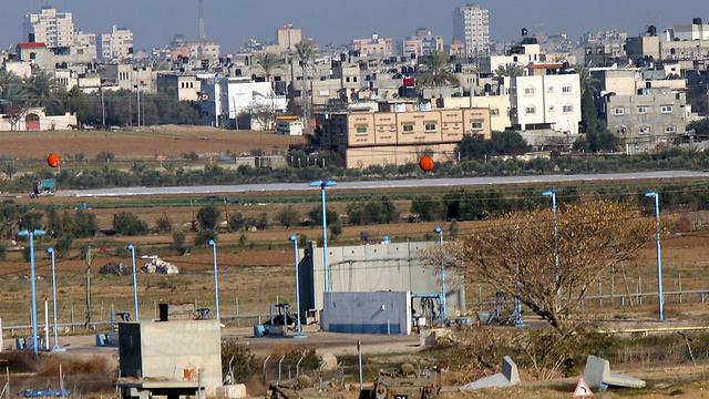 Gaza border with Israel (Photo: Roee Idan)
