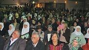Hundreds in Ara Photo: Omer Ravia