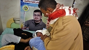 Newborn in Gaza Photo: Reuters