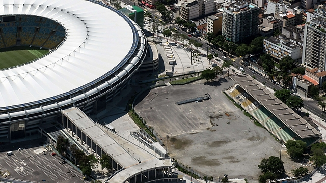 2014 World Cup stadium in Brazil (Photo: AFP)