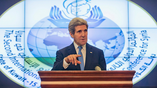 Kerry responds to Ya'alon (Photo: Reuters)