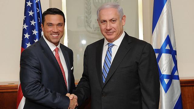 Michael Grimm and Benjamin Netanyahu (Photo:Flickr)