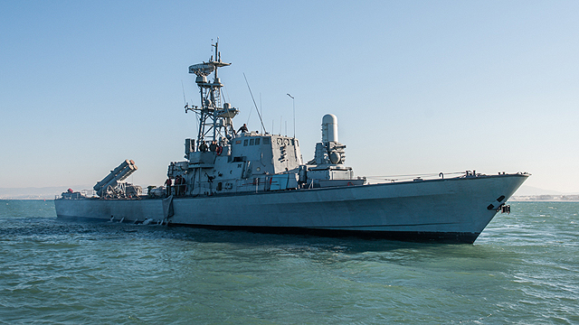 An IDF ship on its retirement journey (Photo: IDF Spokesperson's Unit)