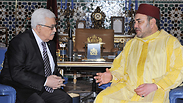Abbas and the king of Morocco Photo: AP