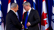 Netanyahu, Harper Photo: EPA