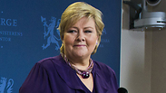 Norway's Prime Minister and Conservative Party Leader Erna Solberg Photo: AFP