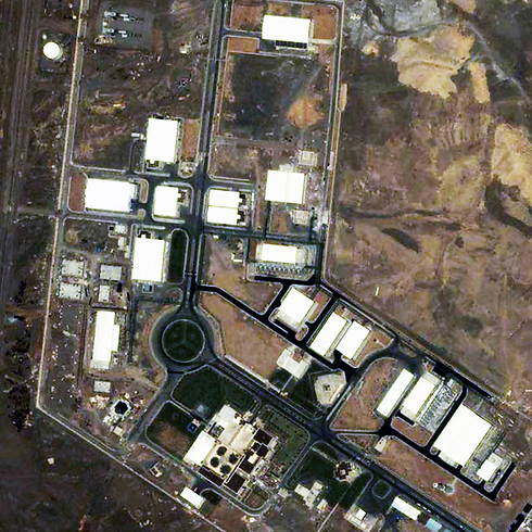 Satellite image of Natnaz plant, December 2007 (Photo: AP) Photo: AP