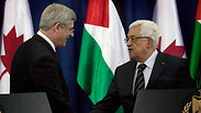 Harper, Abbas Photo: AP