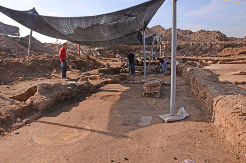 The archeological site (Photo: IAA)