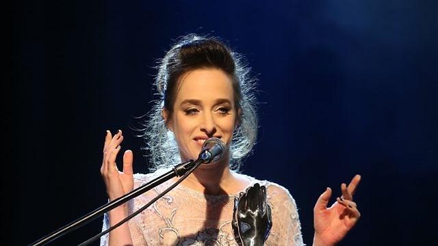 ליאת הר-לב. זכתה בפרס השחקנית הקומית (צילום: מוטי קמחי)