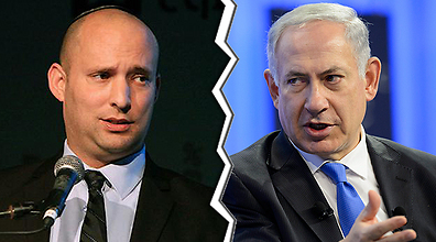Bennett and Netanyahu (Photo: EPA) (Photos: Aner Green, EPA)
