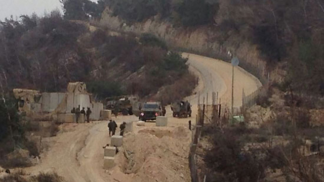 Israel-Lebanon border (Archive picture)