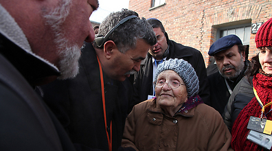 Israeli officials visit Auschwitz (Photo: Courtesy of the Knesset)