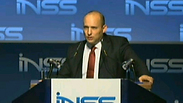 Naftali Bennett at INSS conference Photo: Go Live
