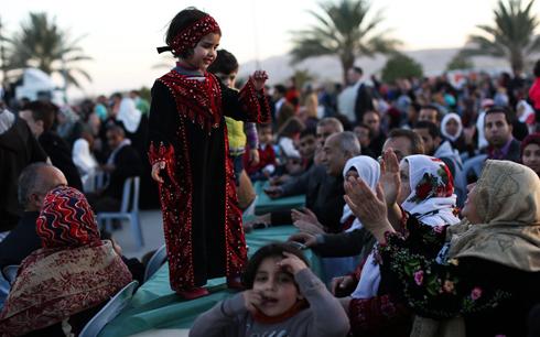 חתונה פלסטינית ב עזה