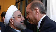 Rouhani and Erdogan meet in Tehran in January Photo: AP