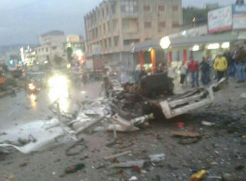 פיצוץ ב ביירות לבנון מחבל מתאבד