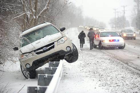 תאונת דרכים בפנסילבניה (צילום: MCT)