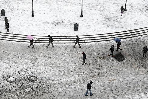 יוניון סקוור, ניו יורק (צילום: AP)