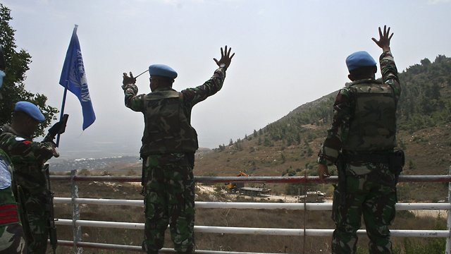 UNIFIL force in Southern Lebanon (Photo: AP/Arhive)