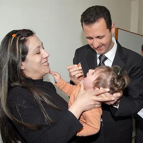 סוריה נשיא בשאר אסד חשבון אינסטגרם נשיאותי